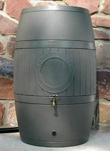 Moss Green Rain Barrel